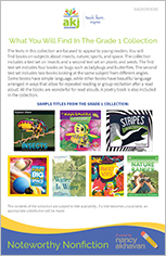 Noteworthy Nonfiction Grade Overview