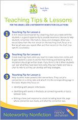 Noteworthy Nonfiction Lesson Plan